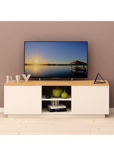 Fly Mobilya Fagos Tv Sehpası 140 Cm Renkli